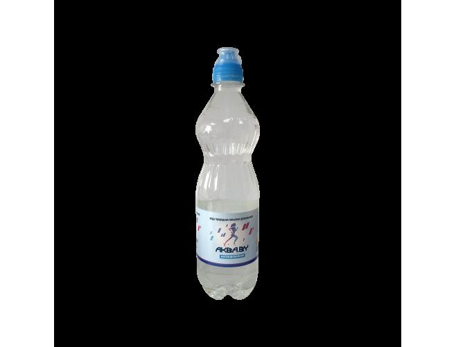 Вода природная (спортивная), 12 бут по 0,6л (Товар для самовывоза)