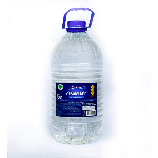 Вода природная, 5,0 л (Товар для самовывоза)